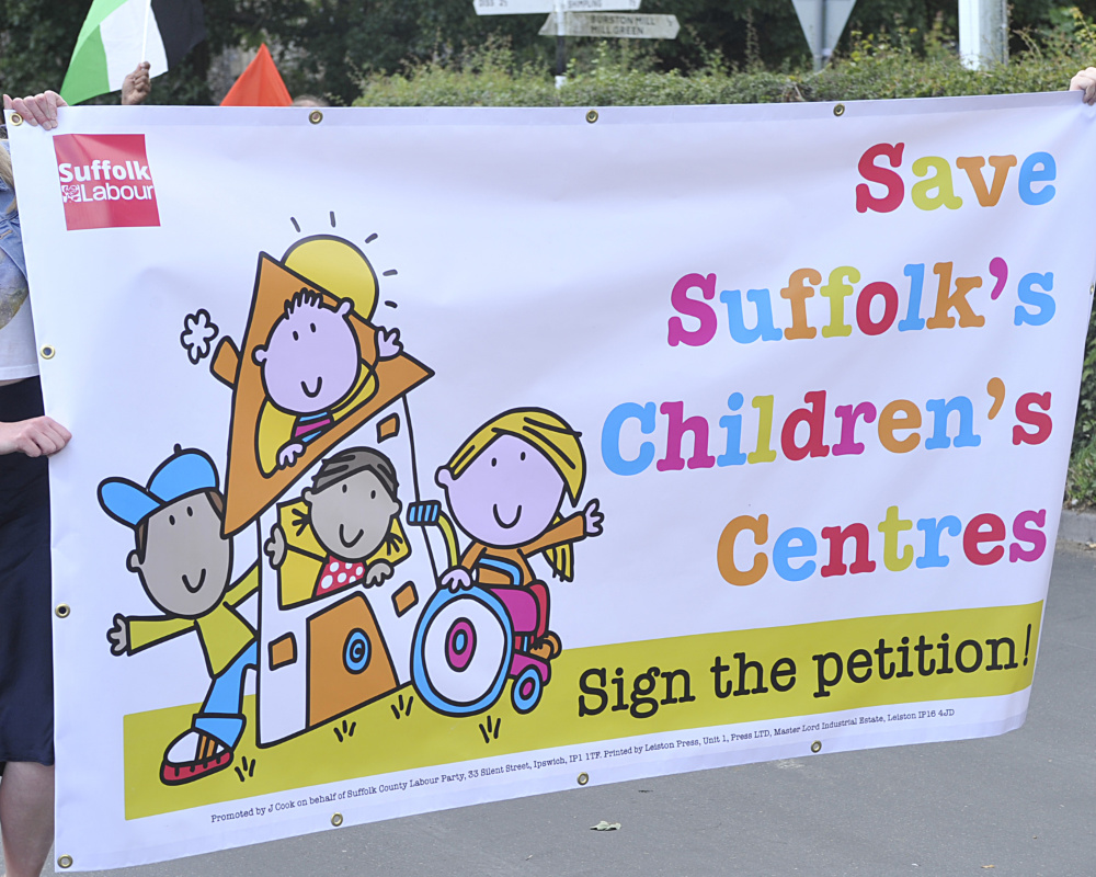 Save Suffolk Children's Centres