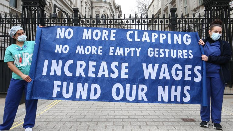 NHS Pay Rise Needed